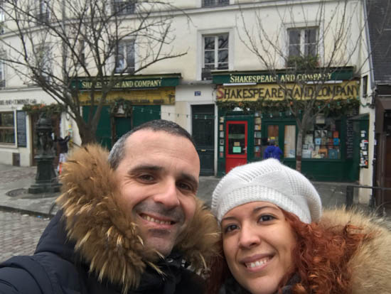 Shakespeare and Company Library Paris