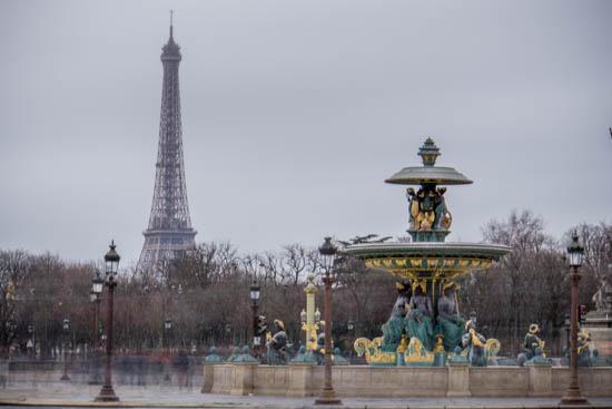 Piazza della concordia Parigi
