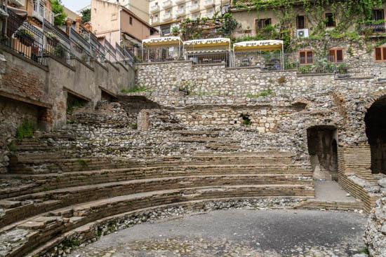 Teatro Odeon Taormina Sicilia