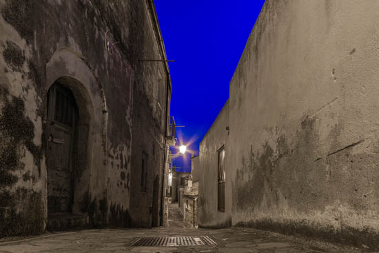 One of the many alleys of Rocca Imperiale Calabria
