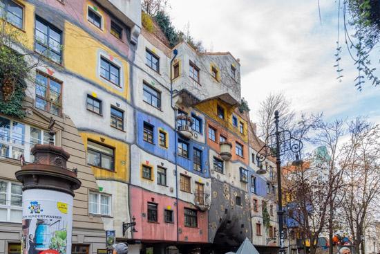 Case Popolari Hundertwasserhaus di Vienna