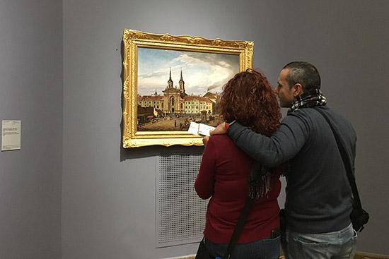 Interno del Museo Nazionale Varsavia