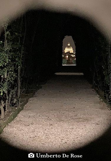 keyhole Rome