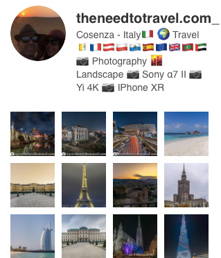 Instagram-theneedtotravel
