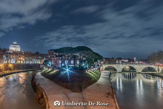 Tiber Island Rome