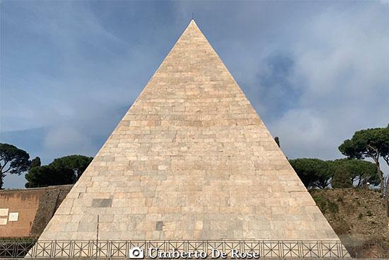 Pyramid of Caius Cestius Rome