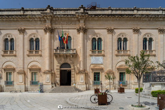 Scicli Town Hall - Vigata Commissariat