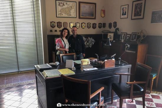 Office of Commissario Montalbano