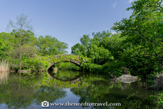 Gapsto Bridge Central Park