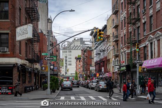 Little Italy Manhattan New York